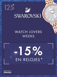 Watch lovers weeks -25% en relojes