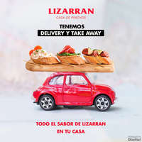 ¡Tenemos delivery y take away!