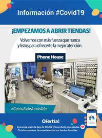 Empezamos a abrir tiendas Phone House #covid19