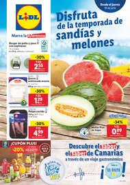 Disfruta de la temporada de sandías y melones