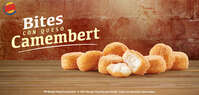 Bites con queso Camembert