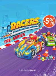 ¿Tienes ganas de velocidad? 🏎💨 Llegan los nuevos T-Racers Serie 2