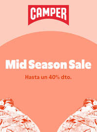 Mid Season Sale. Hasta un 40% dto