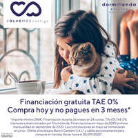 Financiación gratuita TAE 0%