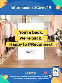 Información #Covid19 - ¡Happy to reconnect!
