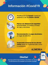 Información Alimerka #Covid19