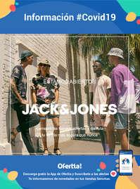 Información Jack & Jones #covid19