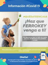 ¡Haz que Ferrokey venga a ti! #Covid19 #QuédateEnCasa
