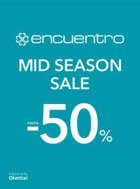 Mid Season Sale. Hasta -50%