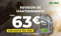 Revisión de mantenimiento desde 63€ 🔥