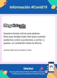 Información MegaCalzado #Covid19