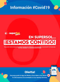 En SuperSol... ¡Estamos contigo! #Covid19