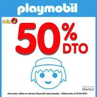 Playmobil 50%