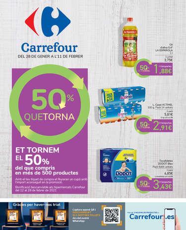 cocinero Uva cocaína  Catálogo de ofertas de Carrefour en Martorell - Ofertia