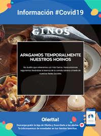 Información Ginos #Covid19