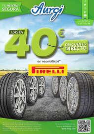 Hasta 40€ en neumáticos* Pirelli