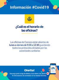 Información Correos #Covid19