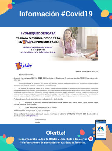 Información Folder #Covid19- Page 1