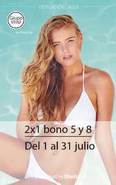 2X1 bono 5 y 8 🔥
