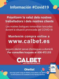 Información Calbet #Covid19