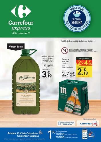 Inactivo Sillón fama  Catálogos de ofertas Carrefour Express - Folletos de Carrefour Express -  Ofertia