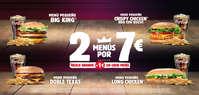2 menus por 7€