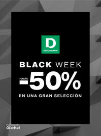Black Week. Hasta -50%
