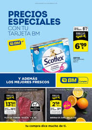 Precios especiales con tu tarjeta BM