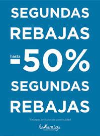Segundas Rebajas hasta -50%