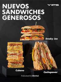Nuevos Sándwiches Generosos