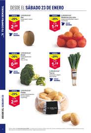 Brócoli de gran calidad y al mejor precio