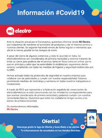 Información Mi Electro #Covid19