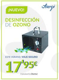 ¡Nuevo! Desinfección de ozono 🆕