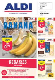 Banana de gran qualitat i al millor preu