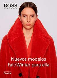 Nuevos modelos Fall Winter para ella