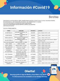 Informacion Bershka #Covid19