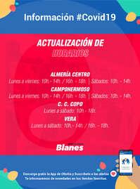 Información Deportes Blanes #Covid19