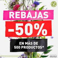 Rebajas en más de 500 productos*