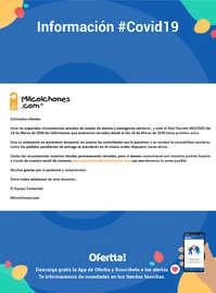 Información Milcolchones.com #Covid19