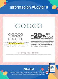 Información Gocco #Covid19