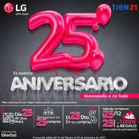 Es nuestro 25 aniversario innovando a tu lado