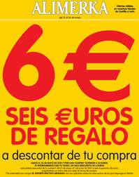 6€ de regalo