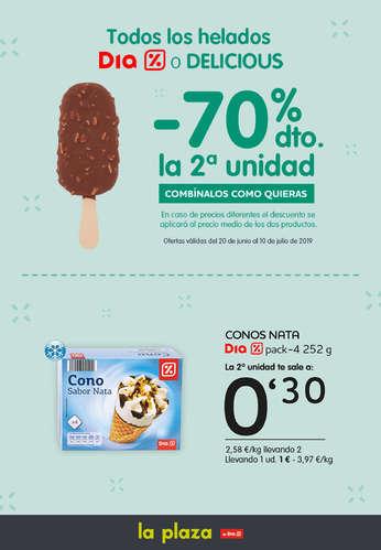 Todos los helados Dia o Delicious -70% la segunda unidad- Page 1