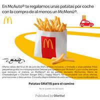 Patatas gratis para el camino 🍟