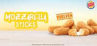Vuelven los Mozzarella Sticks