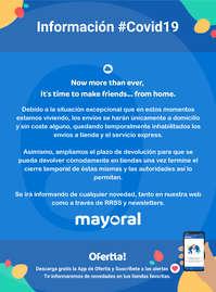Información Mayoral #covid19