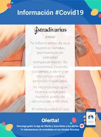 Información Stradivarius #Covid19 #YoMeQuedoEnCasa
