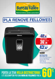 Pla Renove Fellowes