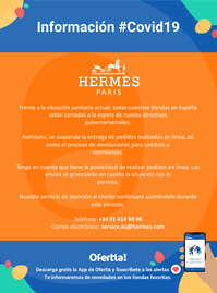 Información Hermès #Covid19