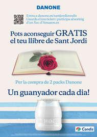 Pots aconseguir gratis el teu llibre de Sant Jordi